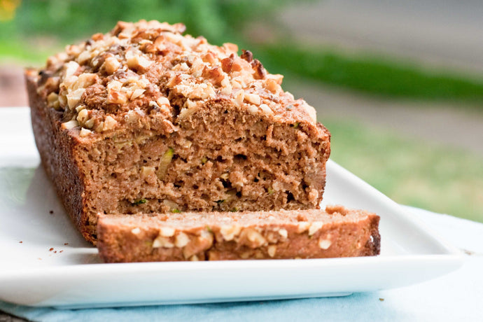 This zucchini bread is healthy and just as tasty as other recipes packed with sugar and oil.