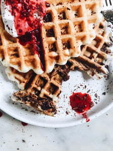 Vegan Chocolate Chip Waffles