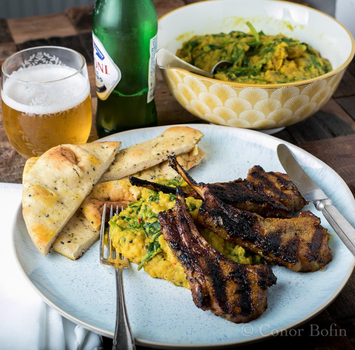 Indian Style Lamb Chops – International Cooperation