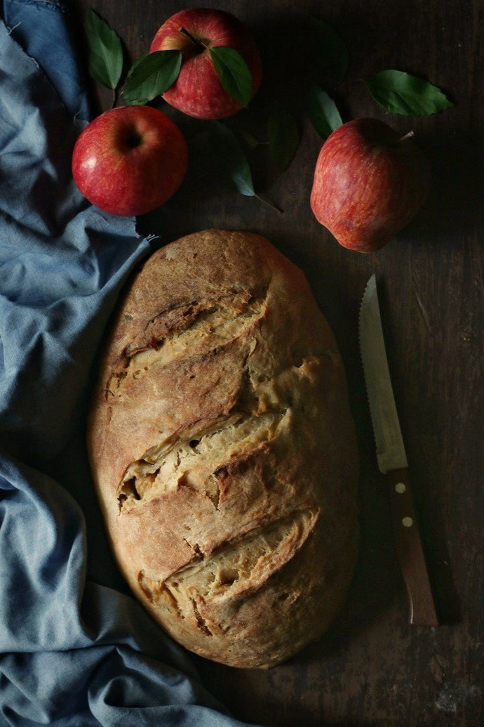 It's Bread Baking Babes time of the month and this time it is an Apple Bread with Cider and Calvados