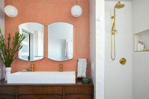 Teaming up with a woman general contractor in L.A., a remodel partnership delivers a dream bathroom