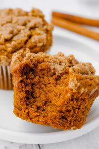 These gluten-free pumpkin muffins are the best I've ever had – gluten-free or not! They have the perfect texture and can easily be made dairy-free