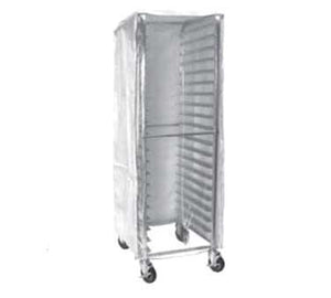 GSW USA AAR-20CW Bun Pan Rack Cover, White Plastic Cover With Clear Front With 2 Zippers, ETL