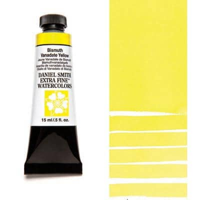 Daniel Smith Watercolour 15ml Tube - Bismuth Vanadate Yellow
