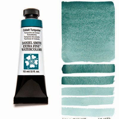 Daniel Smith Watercolour 15ml Tube - Cobalt Turquoise