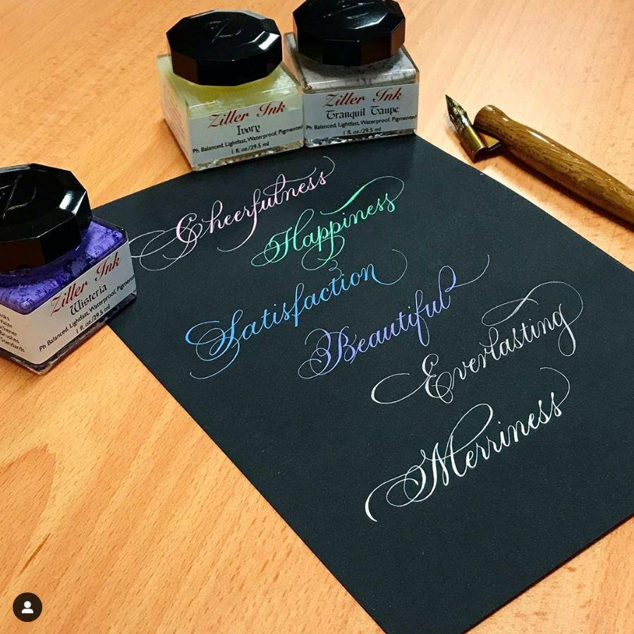27 & 28 FEB 2021 - Traditional Copperplate For Beginners (Minuscules/Lowercase) - Online ZOOM Class