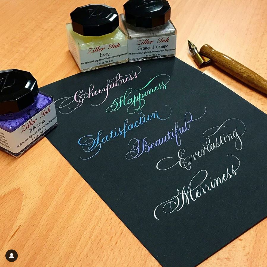 Traditional Copperplate Majuscules (Capitals - Uppercase)