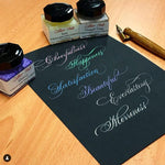 24 & 25 OCT - Traditional Copperplate For Beginners (Majuscules/Uppercase) - Online ZOOM Class
