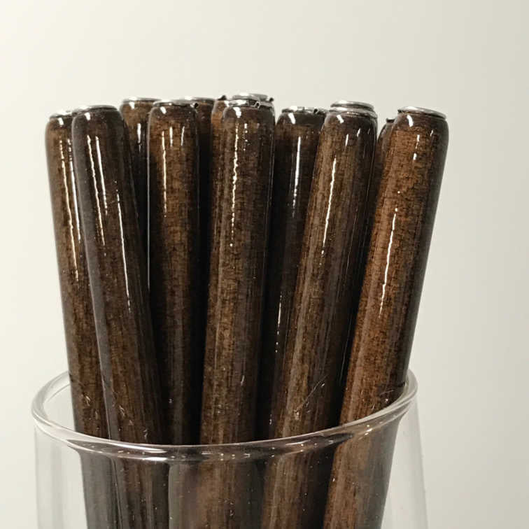 Straight Penholder - Nut Brown