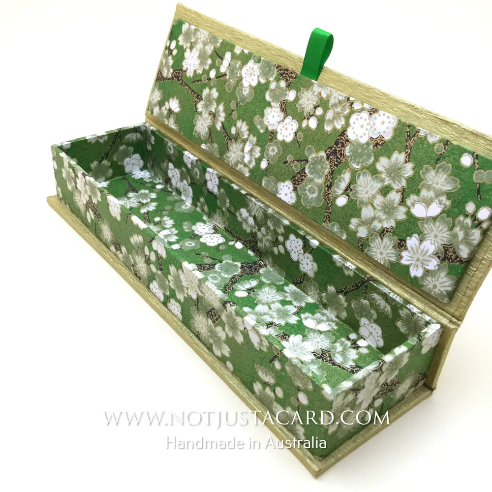 10 OCT - Box Making For Beginners (Hinged Box) - Online ZOOM Class