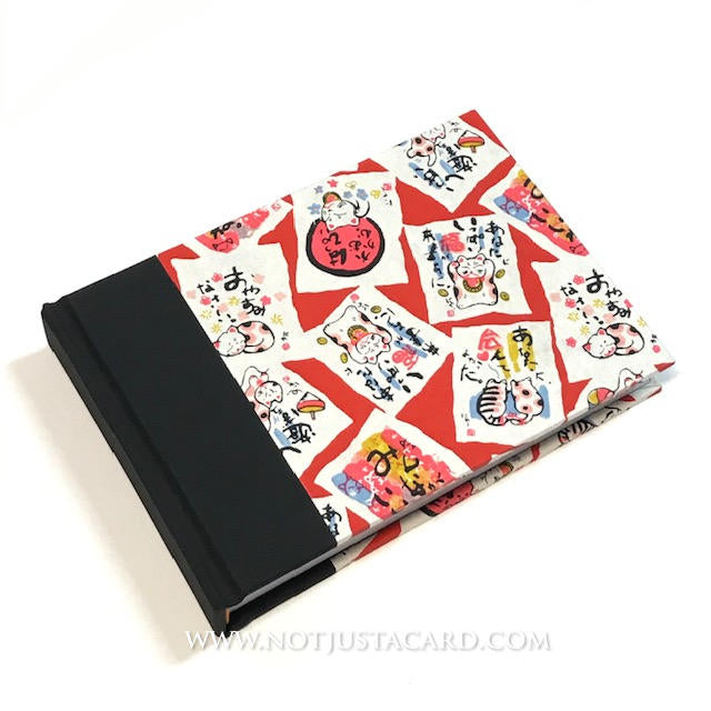 Hard Case Binding - Red Cats