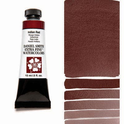 Daniel Smith Watercolour 15ml Tube - Indian Red