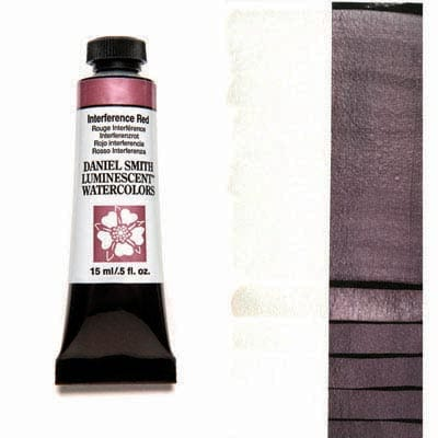 Daniel Smith Watercolour 15ml Tube - Interference Red