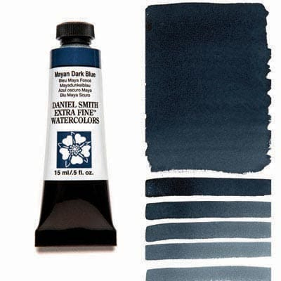 Daniel Smith Watercolour 15ml Tube - Mayan Dark Blue