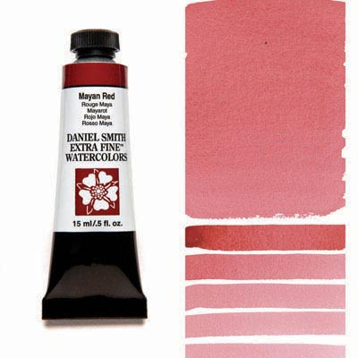 Daniel Smith Watercolour 15ml Tube - Mayan Red