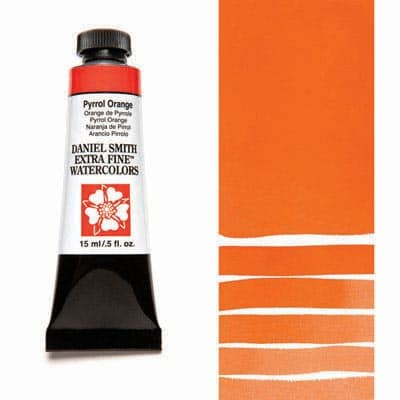 Daniel Smith Watercolour 15ml Tube - Pyrrol Orange
