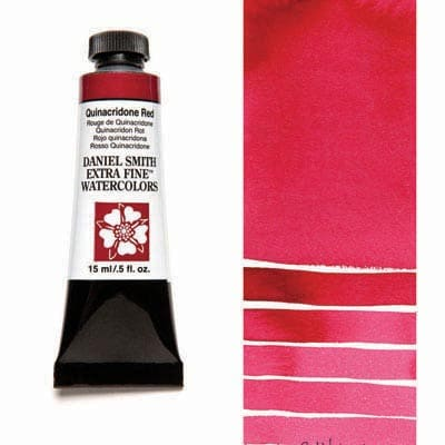 Daniel Smith Watercolour 15ml Tube - Quinacridone Red