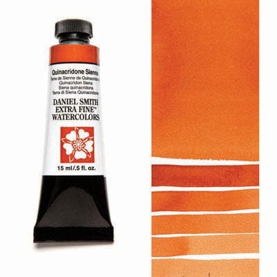 Daniel Smith Watercolour 15ml Tube - Quinacridone Sienna