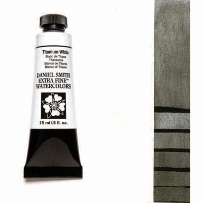 Daniel Smith Watercolour 15ml Tube - Titanium White