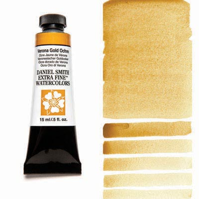 Daniel Smith Watercolour 15ml Tube - Verona Gold Ochre