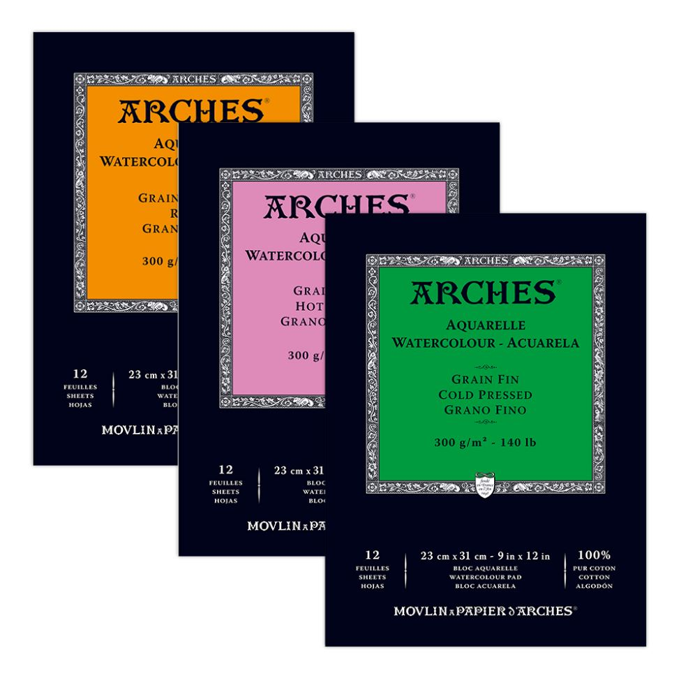 Arches Water Colour Pads