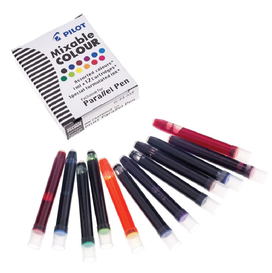 Pilot Cartridges Assorted Colours