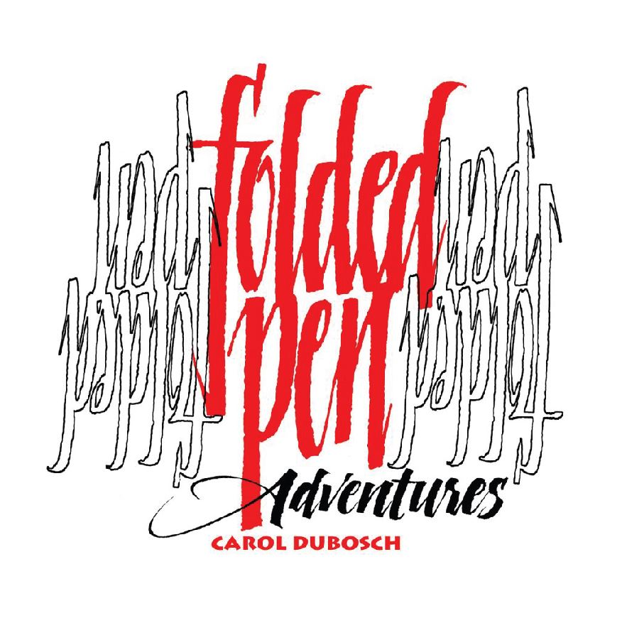 Folded Pen Adventures by Carol DuBosch