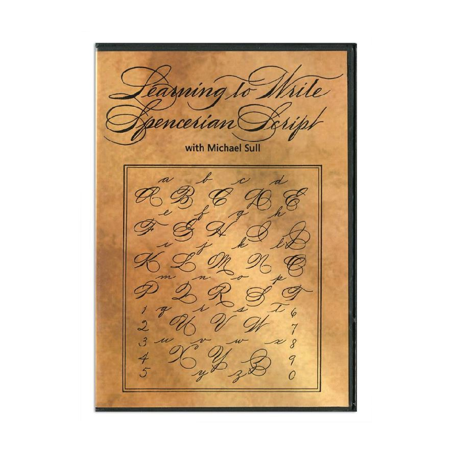 Learning to Write Spencerian Script DVD
