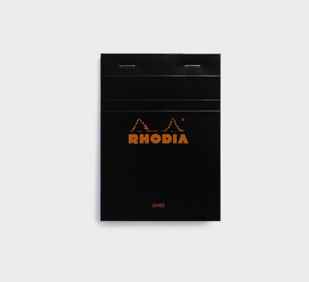 Rhodia #13 Ruled Black Cover A6