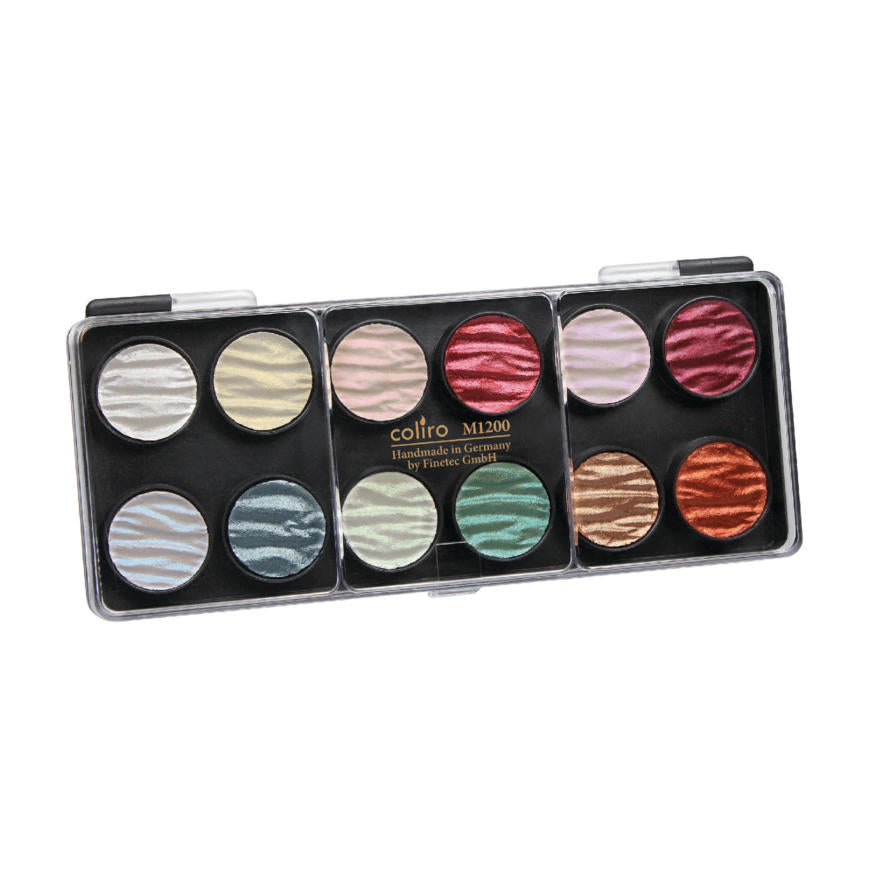 Finetec Colour Set - 12 Pearl Colours (23mm)