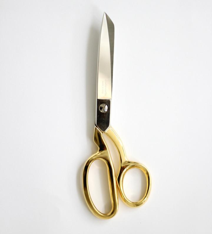Dressmaker Shears Gold Handle