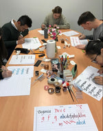 Calligraphy Tasting Workshop (2.5 Hours)