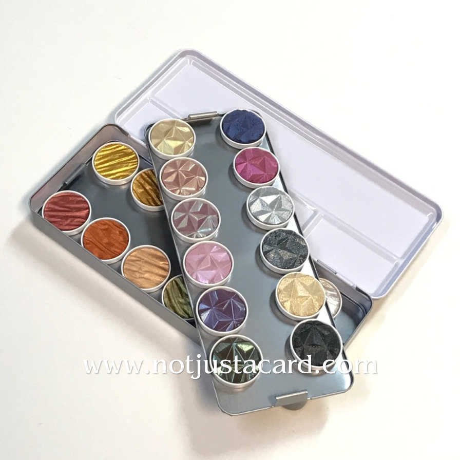 Coliro Pearl Colours - Empty Metal Box for 24