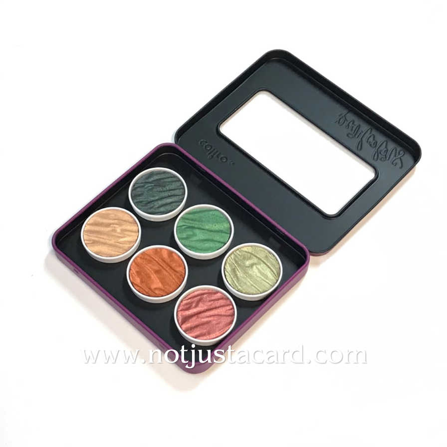 Coliro Pearl Colours - Empty Metal Box for 6