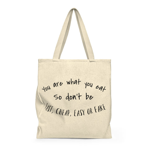 You Are What You Eat | Busy Bee Totes