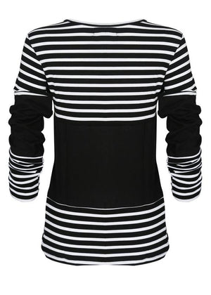 Stripes Color Block Tee