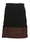 Panelled Stripes Skirt
