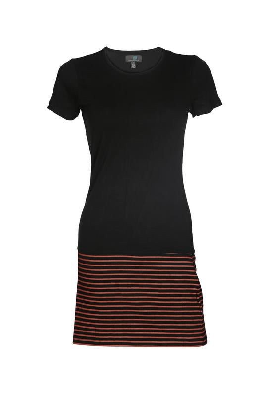 Striped Hem Dress