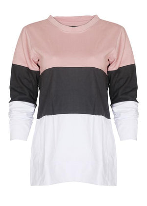 Color Blocked Sweatshirt