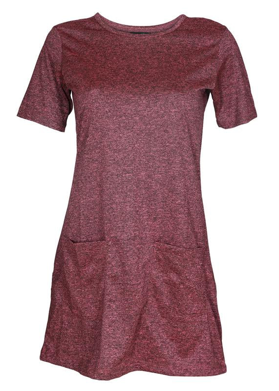 Melange Tshirt Dress