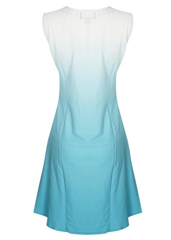 Sleeveless Ombre Dress