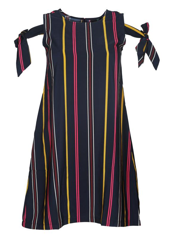 Colorful Stripes Shift Dress