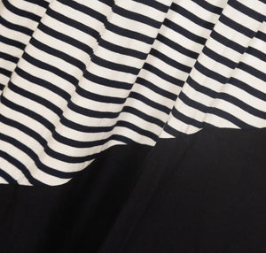 Striped Color Block Dress