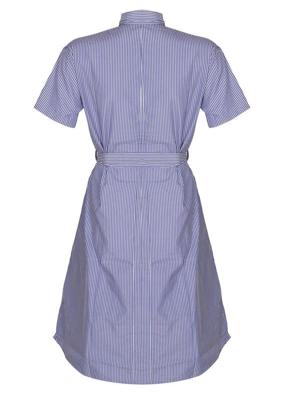 Pin Striped Shirt Dress
