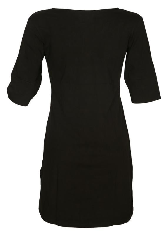 Solid T-shirt Dress