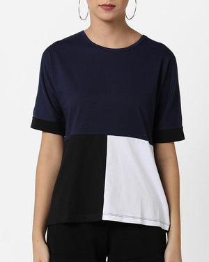 3 Color Blocked Tee