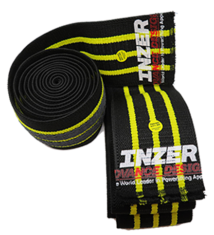 Pair Powerlifting Weightlifting Wraps Iron Wraps Z Inzer Advance Designs Knee Wraps
