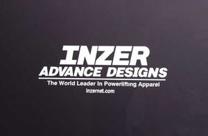 IAD Window Decal-Inzer Advance Designs, The World Leader In Powerlifting Belts and Power Gear