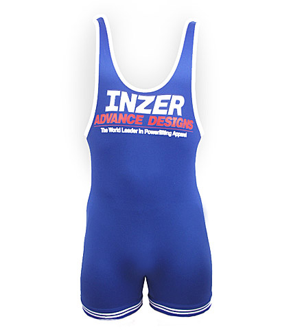 Lifting Singlet-Inzer Advance Designs, powerlifting singlet for lifting competitions, workouts and weightlifting.