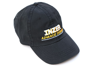 Black Logo Cap-Inzer powerlifting. The World Leader In Powerlifting Belts and Powerlifting Gear